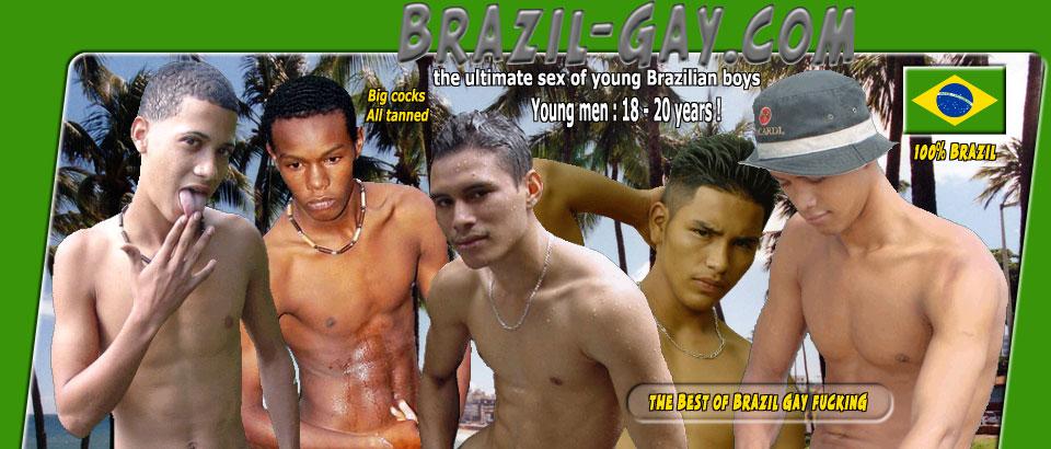 young brazilian gay